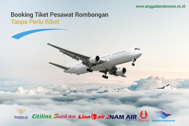 Booking Tiket Pesawat Rombongan